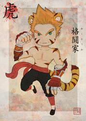 Tiger - Monk