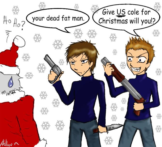 A very boondock christmas by hellquin on deviantart - Boondock saints cartoon ...