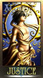 DN Tarot -Justice by Luvelia