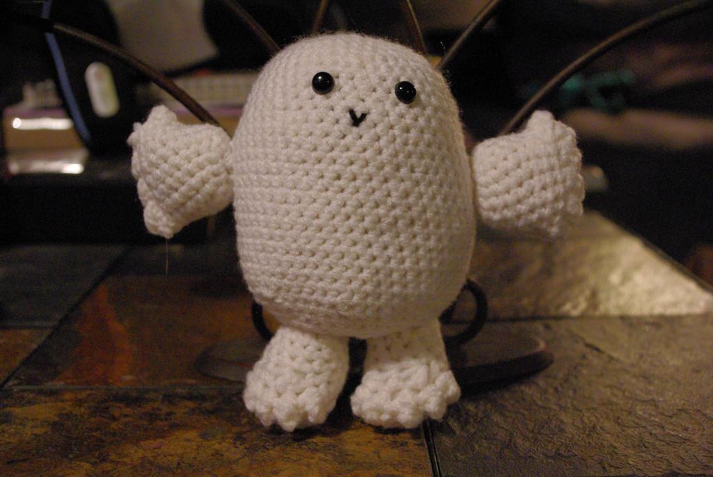 Doctor Who Crochet Adipose Plush By Alleykat666 On Deviantart