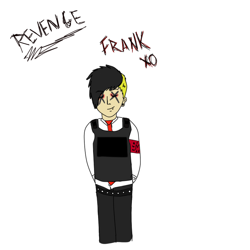 Frank Iero Wallpaper: .: Frank Iero Revenge WIP :. By XStitchTheseWoundsX On