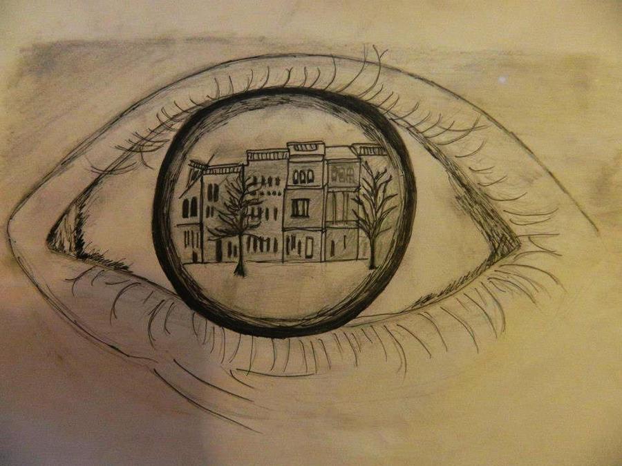 Eye Reflection Drawing an Eye Reflection Drawing