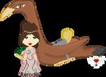 Princess Aerodil and Zithara - Masquerade by Aerodil