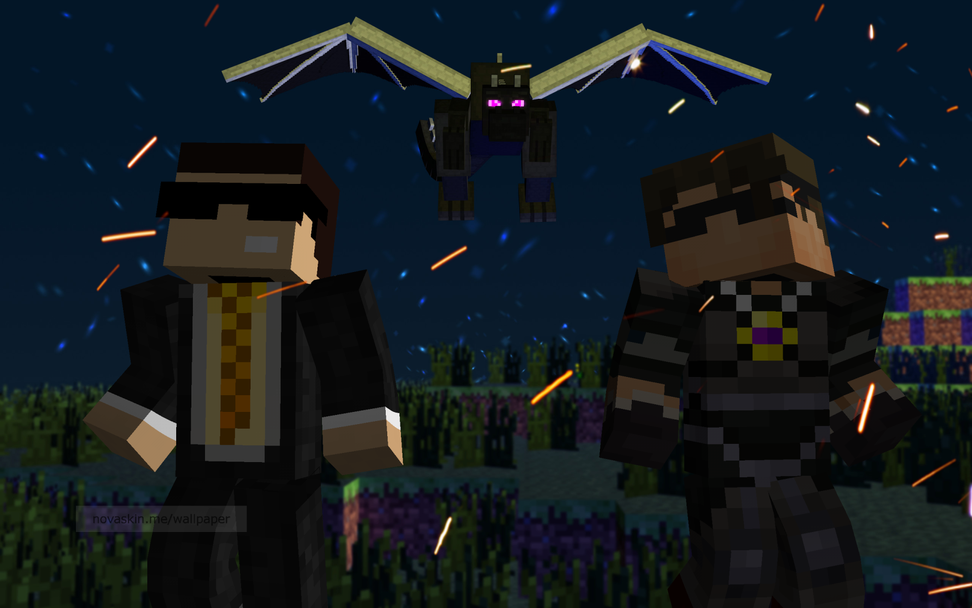 Bodil40 and Skydoesminecraft by LZGaMeR on DeviantArt