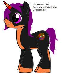 Custom pony for Wolfie2000