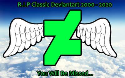 R.I.P Classic Deviantart 2000 - 2020