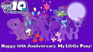 10 Years Of Magic Friendship