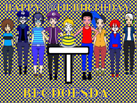 Happy 19th Birthday, BECDoesDA