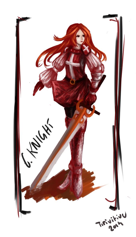Crimson Knight by Tirivitive