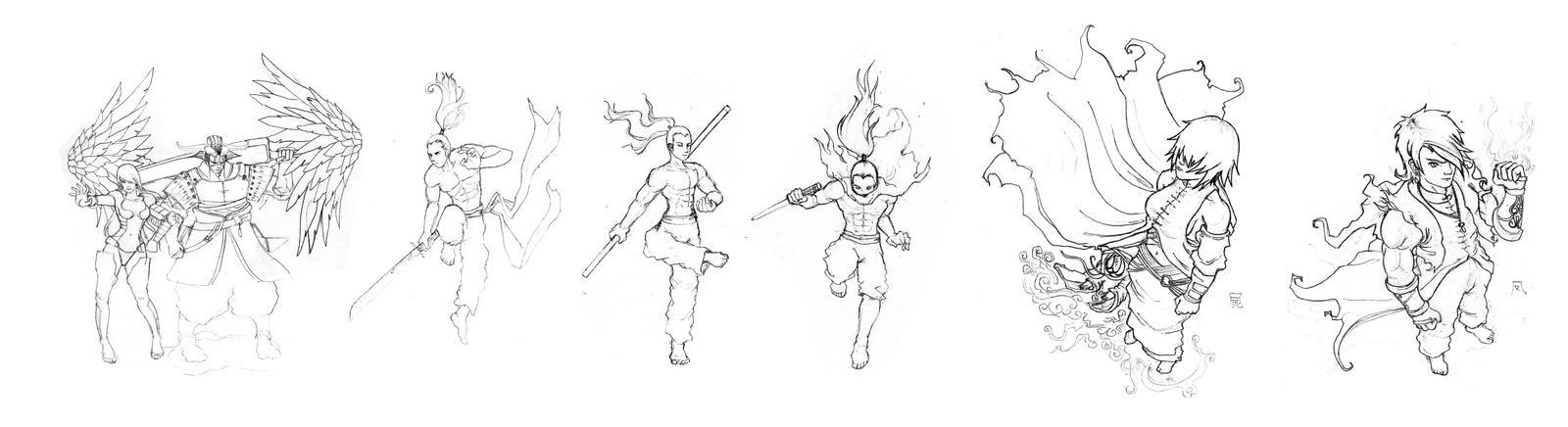 Fantasy Concept Art Sketch