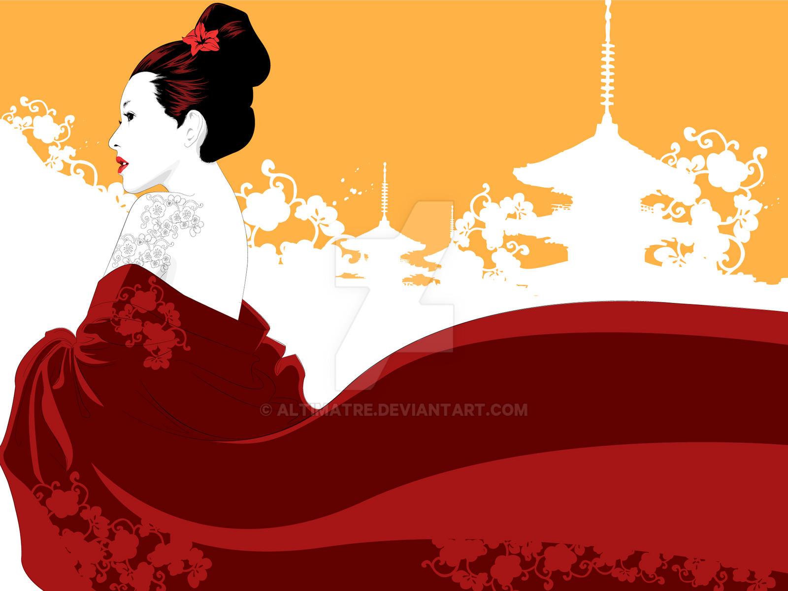 + Memoirs of a Geisha by Altimatre