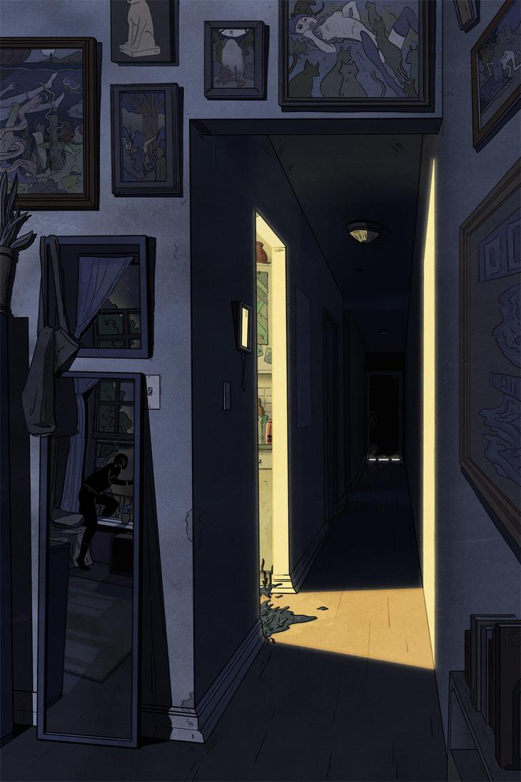 DarkHall by SamBennett