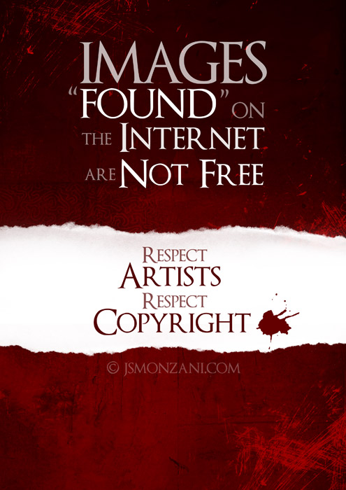 Respect copyright by jsmonzani