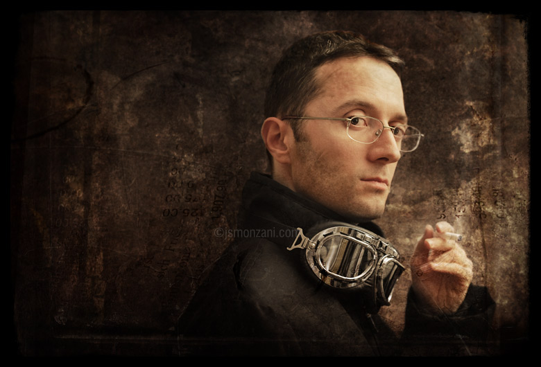 Steampunkish self portrait by jsmonzani