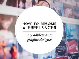 Become a freelancer  and graphic designer