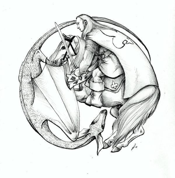 St george and the dragon by aljas on deviantart for Tattoo shops in st george
