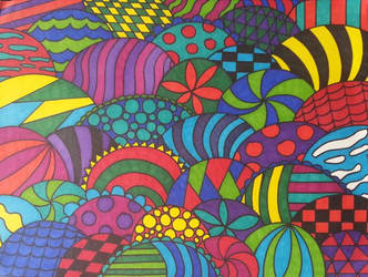 A Zentangle of Scales by CrimsonOokamii