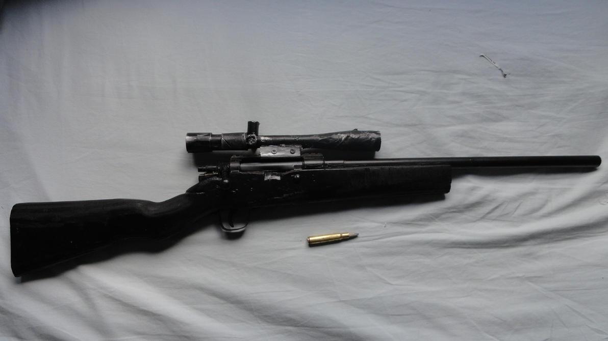 Homemade M30 Sniper Rifle by EdonGuraziu