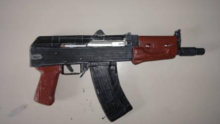 Homemade AKS-74U
