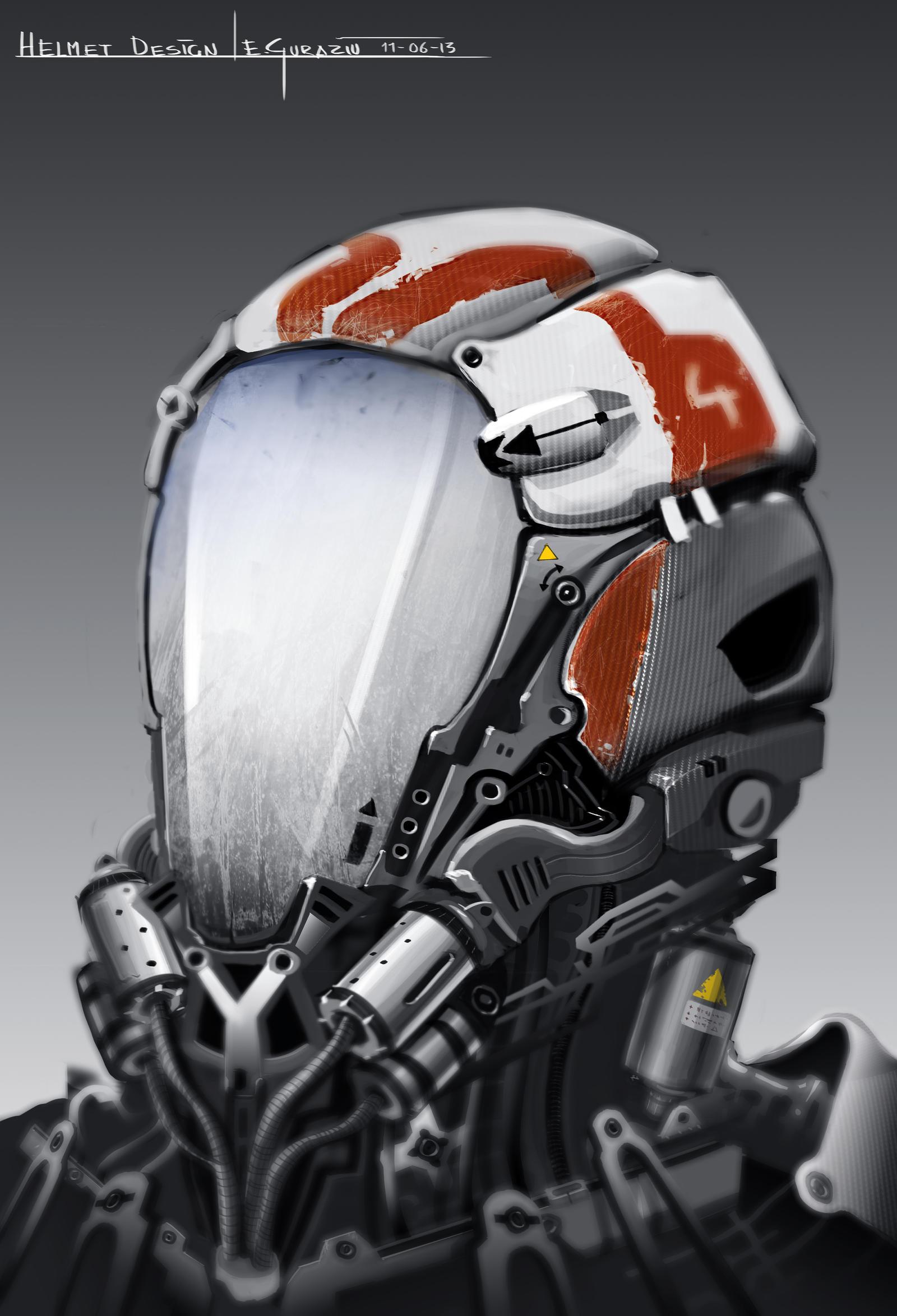 Helmet Design by DrZoidberg96