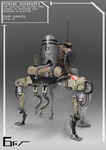 Quadruped helping droid