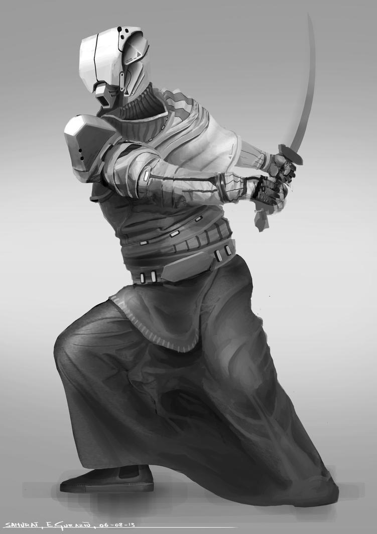 Sci-Fi Samurai by DrZoidberg96