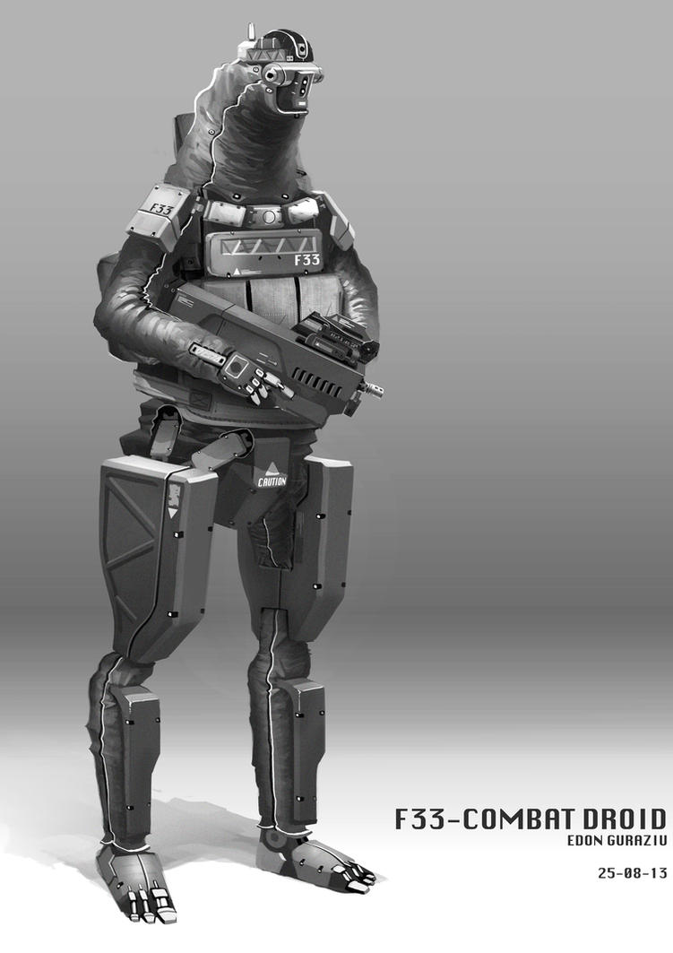 F33 Combat Droid by DrZoidberg96