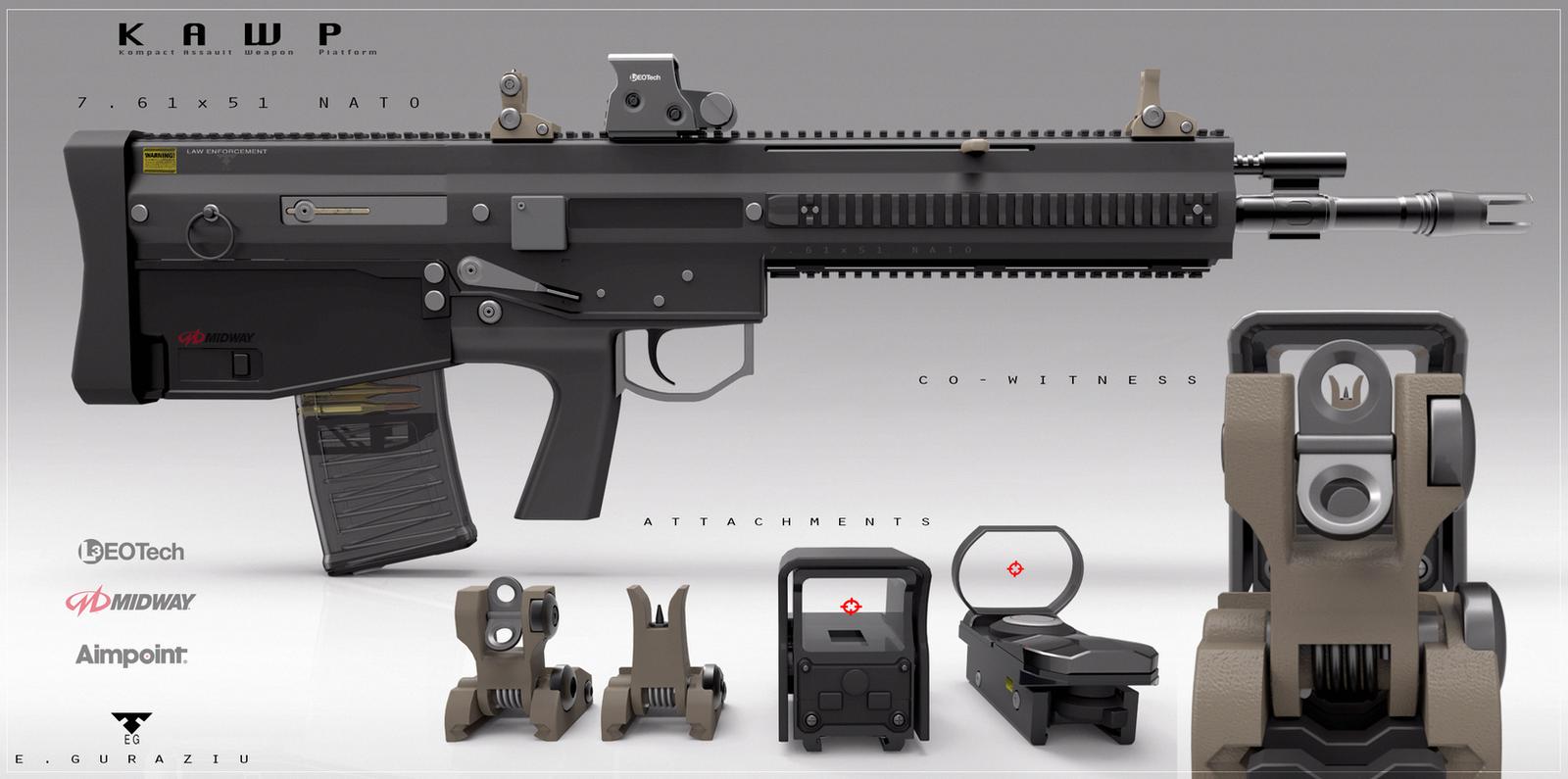 KAWP  Concept Design by EdonGuraziu