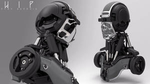 Robot Bust - Design