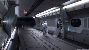 Scifi Corridor - Concept