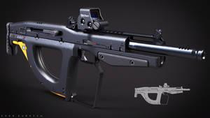 Bullpup Weapon Concept