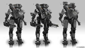 Battle Robot Concept