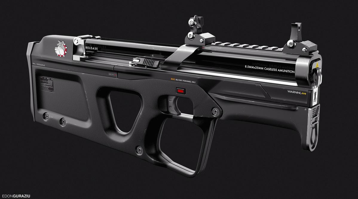 'Bulldog' Future Weapon Design by EdonGuraziu on DeviantArt