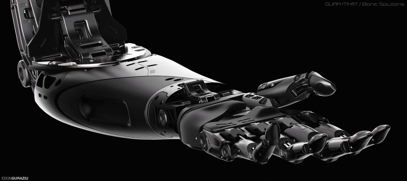 Bionic Arm Concept Design by EdonGuraziu on DeviantArt
