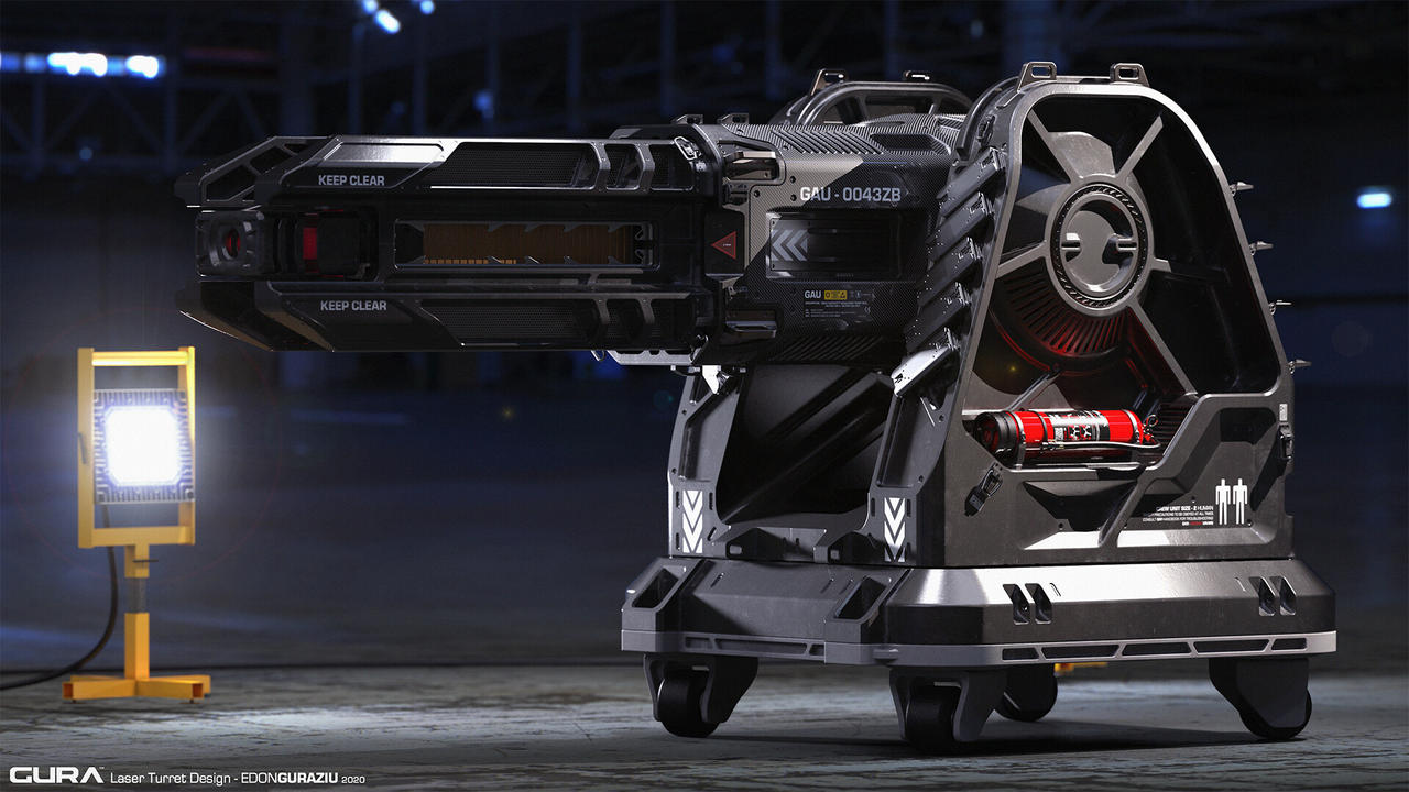 GURA Laser Turret Design