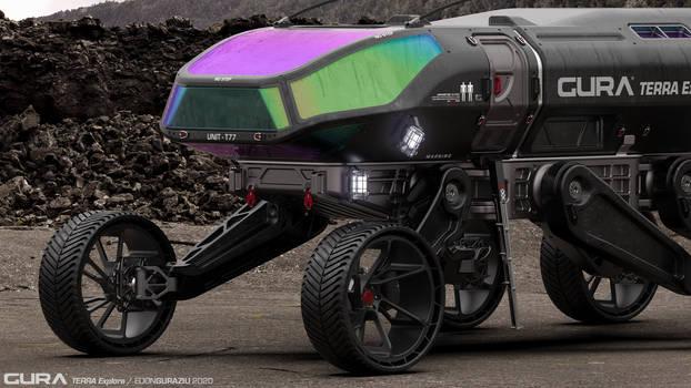 GURA Terra Explora Vehicle Design Closeup