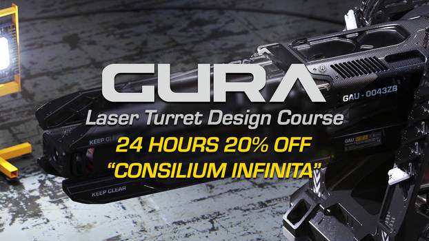 GURA Laser Turret Design Course SALE