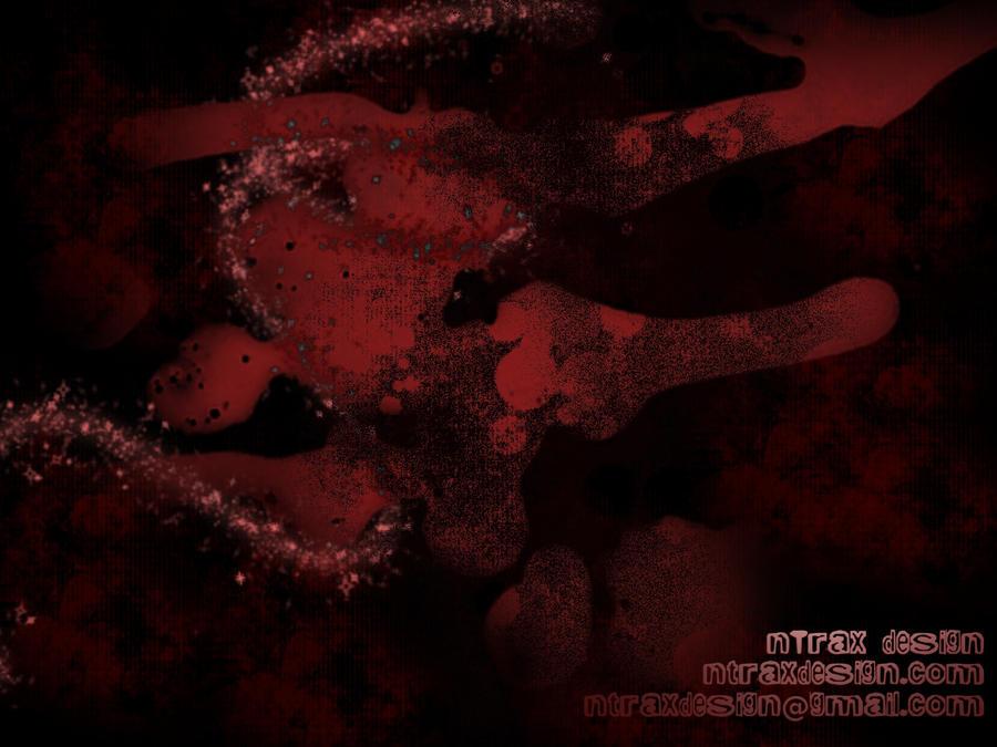 bloody wallpaper. Bloody Wallpaper by ~ntrax on