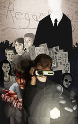 Marble Hornets Poster by dracothrope