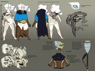 Tavra Se'Cora Reference Sheet by dracothrope