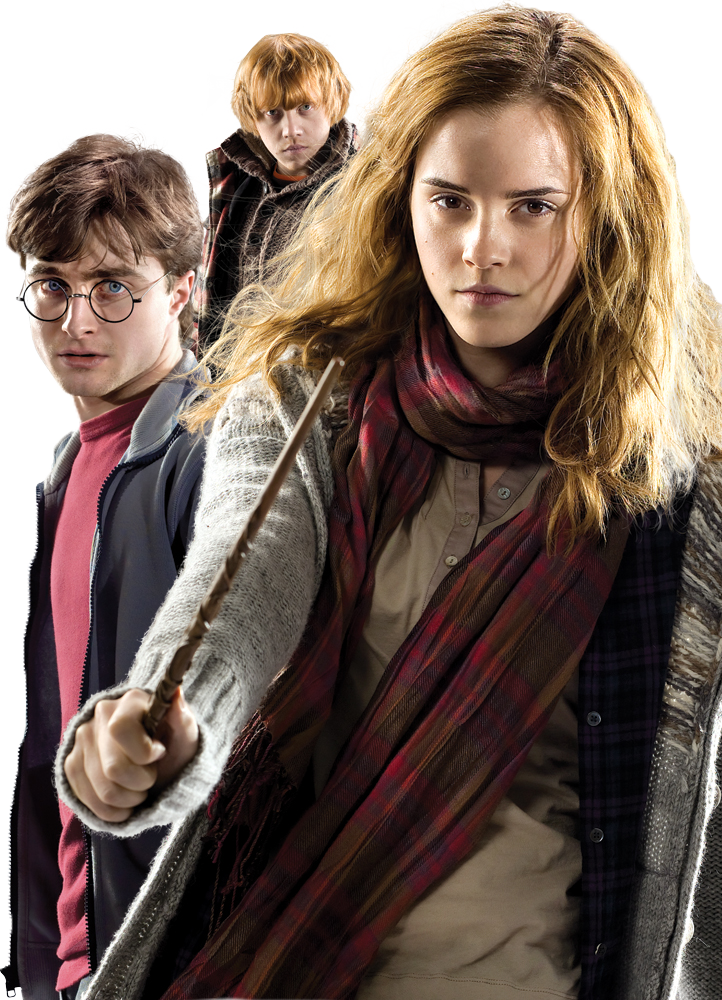 Harry Potter 7s' Trio HQ PNG by ReligioArt on DeviantArt