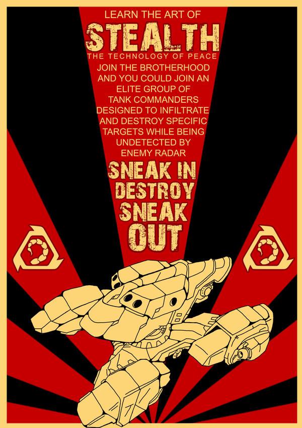Stealth it. by Adder24