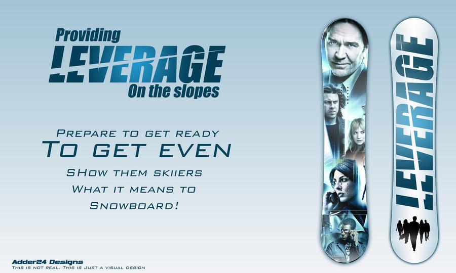 Leverage Snowboard by Adder24