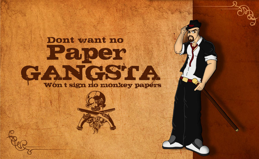 Thesis on gangsterism
