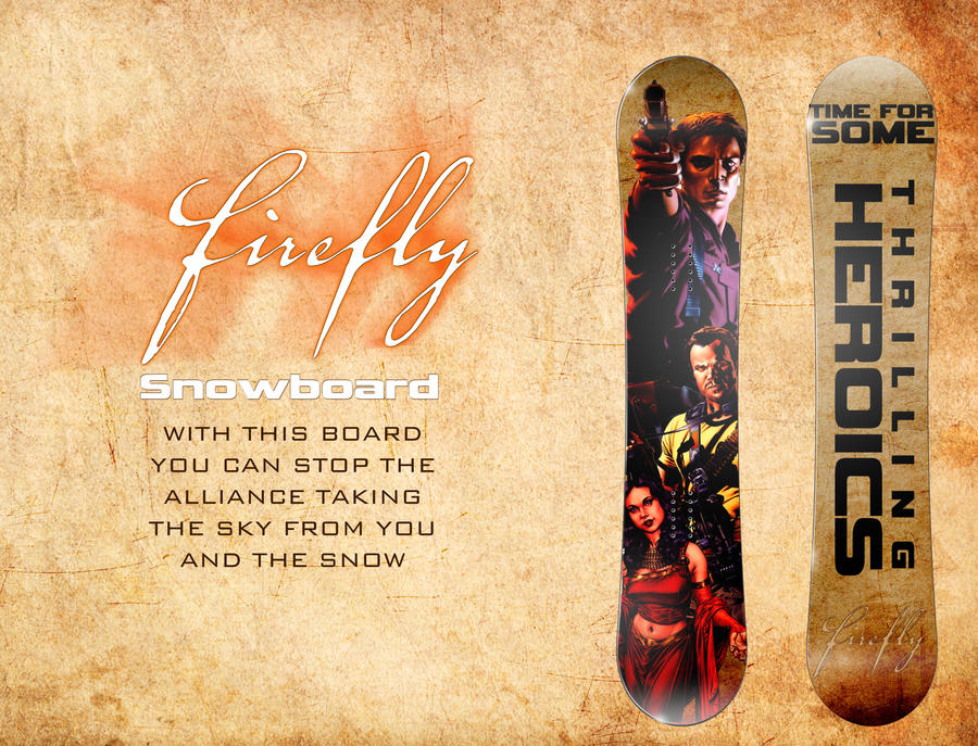 Firefly Snowboard. by Adder24