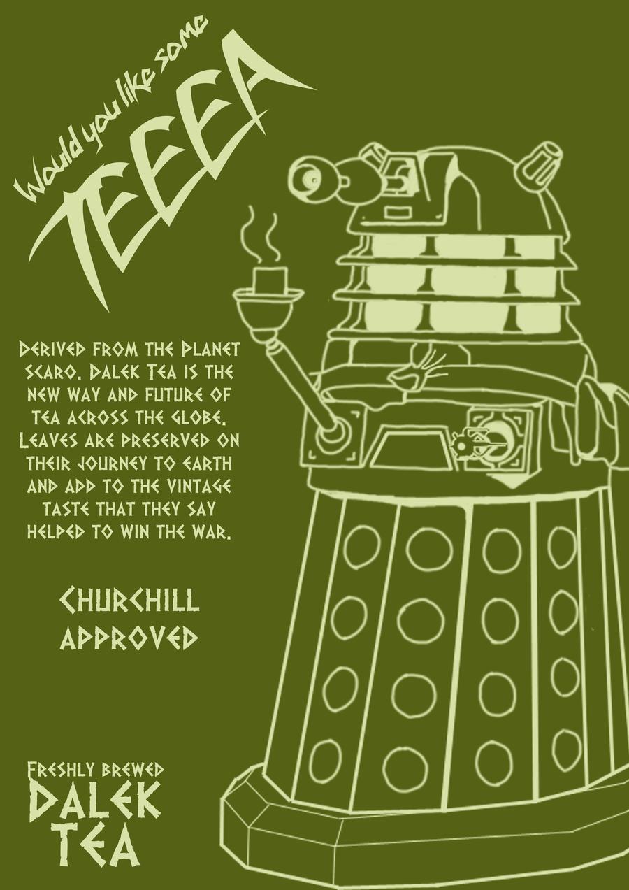 Dalek Tea Anyone by Adder24
