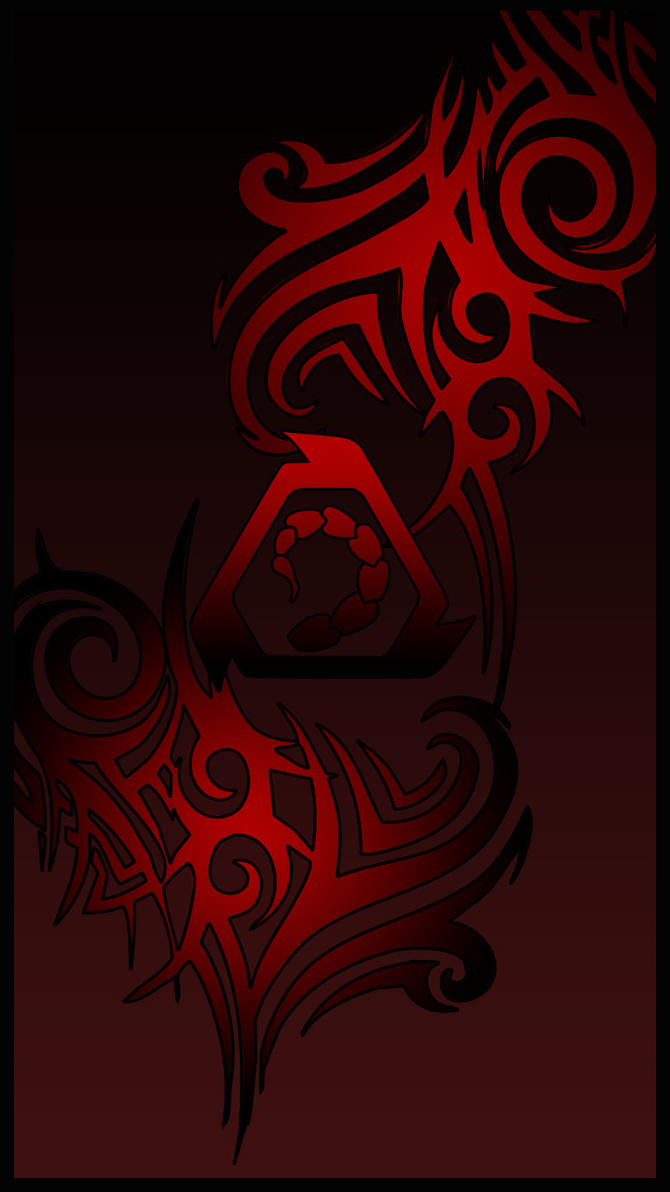 tribal nod red by adder24 on deviantart