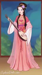 Meilin as a Concubine