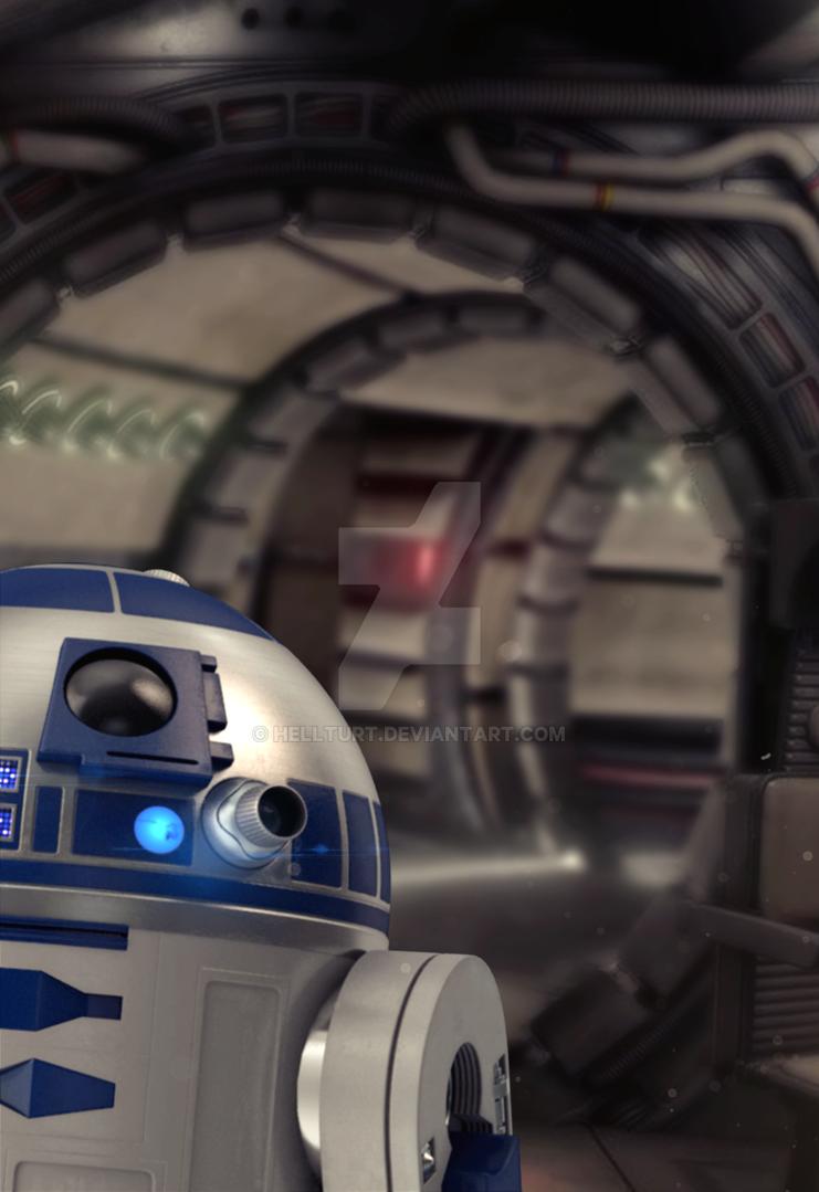 R2-D2 by helltuRt