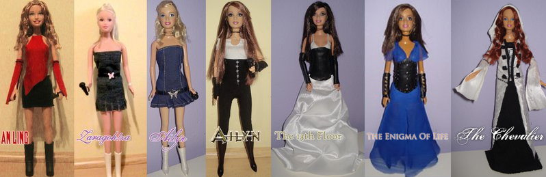 Ailyn custom dolls collection by RaulRT
